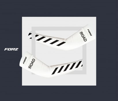 Cycling arm sleeve-[WHITE]