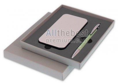 ชุดกิ๊ฟเซ็ตชุดปากกาเน้นข้อความ 5 in 1พร้อมปากกาลูกลื่น