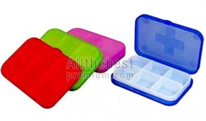 กล่องใส่ยา แบบ 6 ช่อง