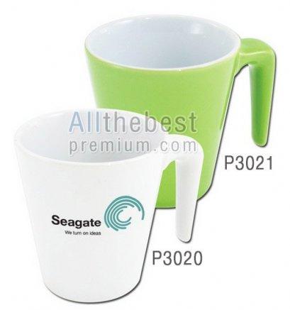 แก้วเซรามิคสีเขียว หรือ แก้วกาแฟ