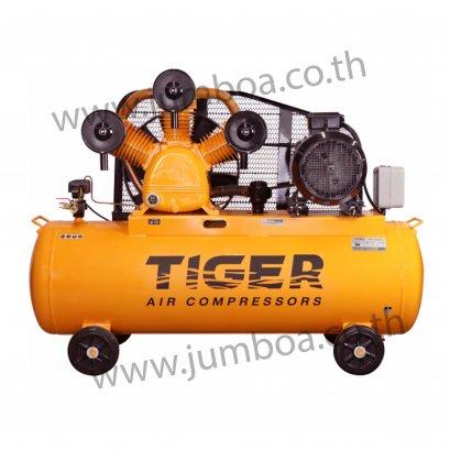 ปั๊มลมสายพาน TIGER TGA315-340M 15HP มอเตอร์ 15HP 380V. ถัง 340 ลิตร
