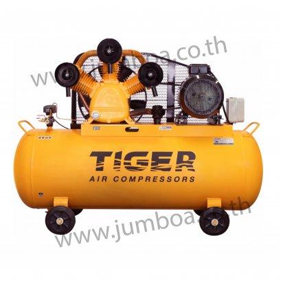 ปั๊มลมสายพาน TIGER TGA315-500M 15HP มอเตอร์ 15HP 380V. ถัง 500 ลิตร