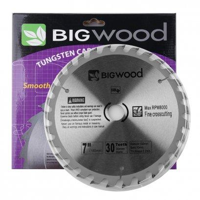 ใบเลื่อยวงเดือน (สำหรับตัดไม้)  Big wood ผลิตจากเหล็กที่มีคุณภาพดี