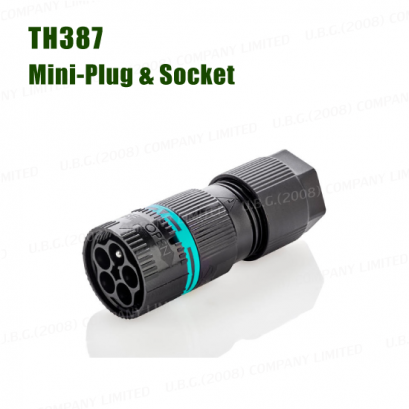 Electrical Connector IP68 - TH387 MINI CONNECTOR PLUG & SOCKET