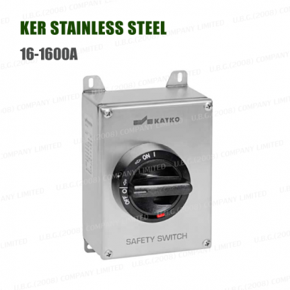 SAFEafety Switch - KER STAINLESS STEEL 16-1600A