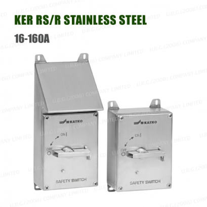 SAFEafety Switch - KER RS/R STAINLESS STEEL 16-160A