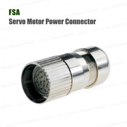 Servo Motor Connector - FSA Servo Motor Power Connector Series XM23