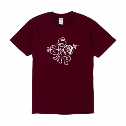 WORLD T-SHIRT (MAROON)