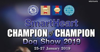SmartHeart Champion Of Champions Dog Show 2019