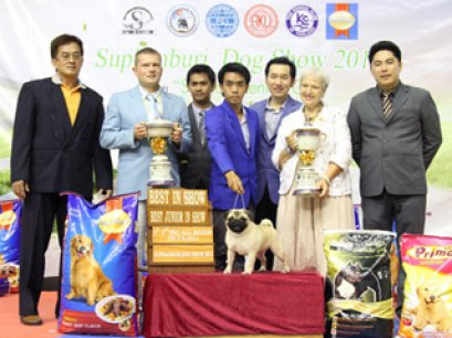 Suphanburi Dog Show 2011