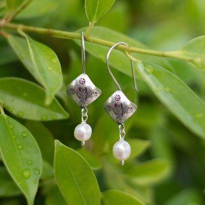 Challenge collection #1 : 92.5 Sterling Silver Earring