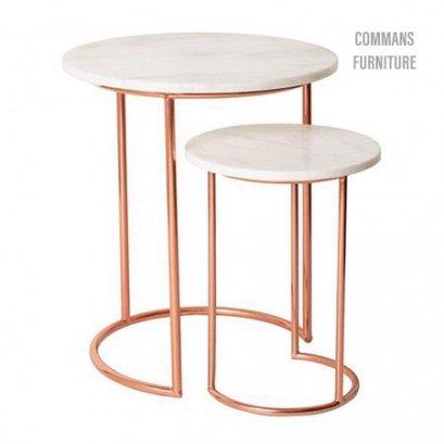 โต๊ะข้าง Luxury (เซ็ต)