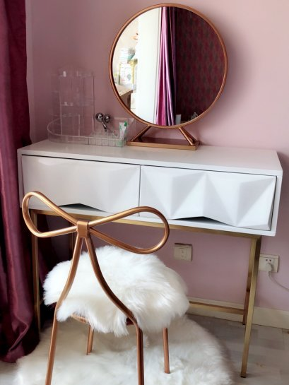 ชุดโต๊ะแป้ง Luxury (Set 3 ชิ้น)