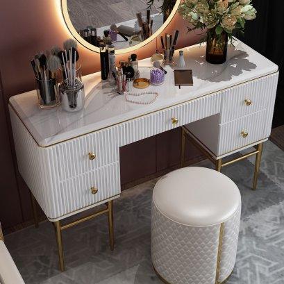 โต๊ะเครื่องแป้ง Luxury (แค่โต๊ะ)