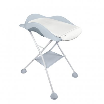 BEABA Camélé'O Changing Table with Foot Support - Light Grey