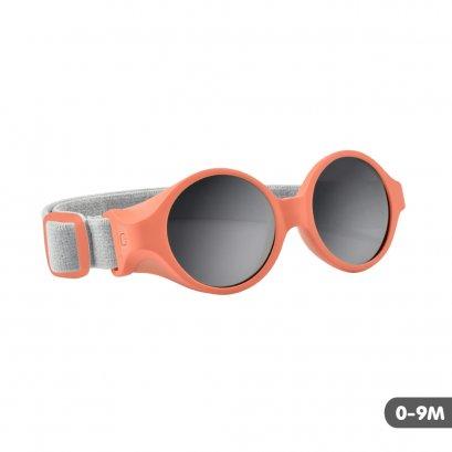 แว่นกันแดดเด็ก Clip strap sunglasses XS (0-9 m) Grapefruit