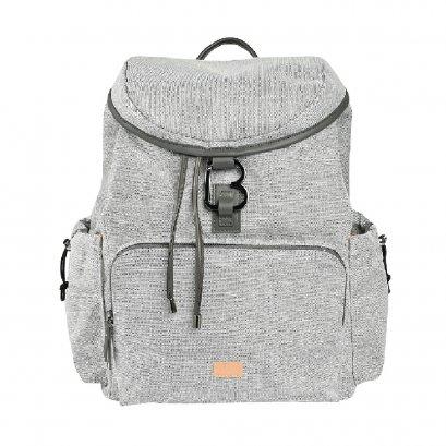 กระเป๋าเปลี่ยนผ้าอ้อมแบบเป้สะพายหลัง Vancouver Backpack XL - Heather Grey