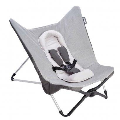 Compact Baby Seat II Heather GREY foldable evolutive