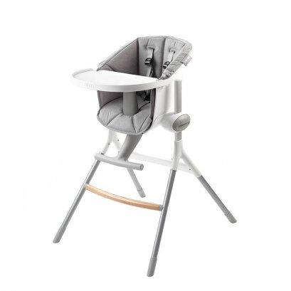 เก้าอี้ทานอาหารเด็กพร้อมเบาะ BEABA Up & Down High Chair with Grey Cushion