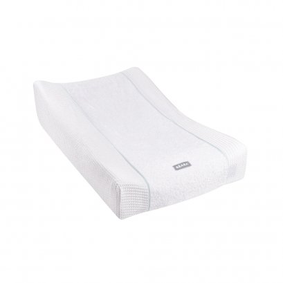 """SOFALANGE Changing Mat with """"Honeycomb"""" Cover Fitted Sheet - White"""