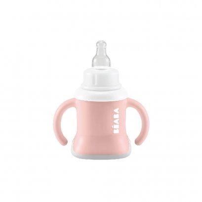 ถ้วยหัดดื่ม 3 in 1 Evolutive Training Cup - Vintage Pink