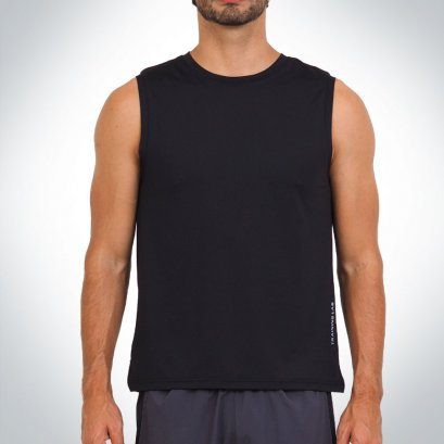 Men's TL Sleeveless Black 2.0