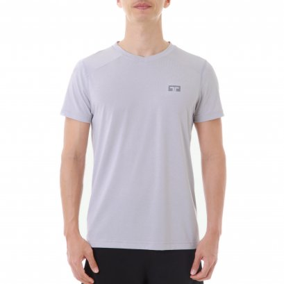 TL V-LITE RUNNING t-shirt (GREY)