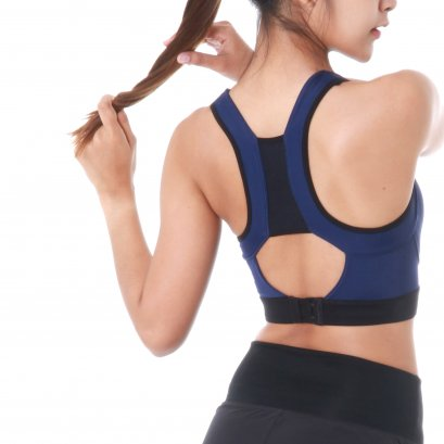 Women's TL Move Sports Bra (Navy)