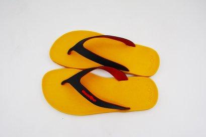 FLIPPER 2 TONE- blackOut พื้นเหลือง/หูดำแดง