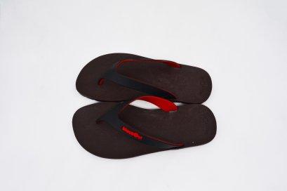 FLIPPER 2 TONE- blackOut พื้นโกโก้/หูน้ำดำแดง