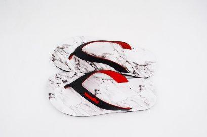 FLIPPER 2 TONE- blackOut พื้นหินอ่อน/หูดำแดง
