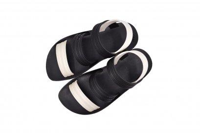 X1 SLING - blackOut พื้นดำ หูขาว/ดำ