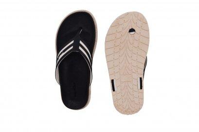 Comfy Flipper - blackOut พื้นดำ/ขาว หูดำ/ขาว