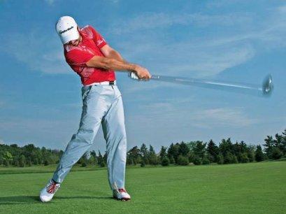 การปลดปล่อยร่างกายซีกขวาของนักกอล์ฟเพื่อวงสวิงที่สมบูรณ์