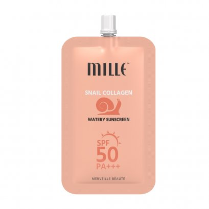 MILLE SNAIL COLLAGEN WATERY SUNSCREEN SPF50 PA +++ 6g.