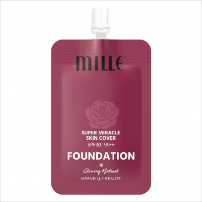 MILLE SUPER MIRACLE SKIN COVER FOUNDATION SPF 30 PA++ 6G.