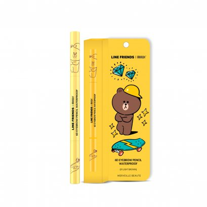 LINE FRIENDS | MILLE 6D EYEBROW PENCIL WATERPROOF 2G.