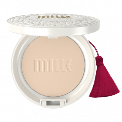 MILLE SUPER WHITENING GOLD ROSE PACT SPF48 PA+++ 11G.