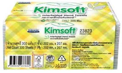 23823 KIMSOFT Interfold Hand Towel