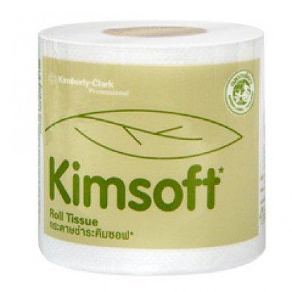 04100 กระดาษชำระม้วนเล็ก KIMSOFT 1'r