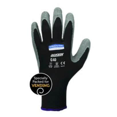 97271 JACKSON SAFETY* G40 Latex Coated Gloves 8-M