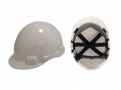 หมวกนิรภัย รองใน6จุด ปรับเลื่อน มอก.368-2538