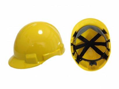 หมวกนิรภัย รองใน6จุด ปรับหมุน มอก.368-2538