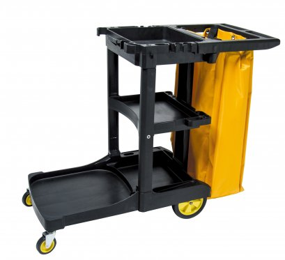 D-11C JANITOR CART WITH COVER
