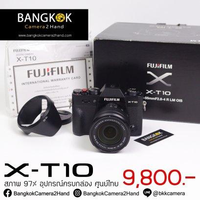 FUJIFILM X-T10 BlackNoir