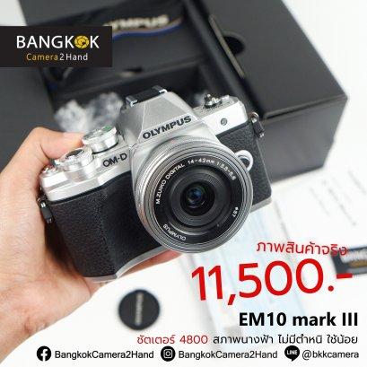 OMD EM10 mark 3 สภาพนางฟ้า ชัตเตอร์ 4800