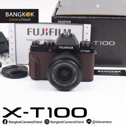 FUJI X-T100 Brown Limited