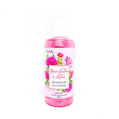 Rose​ water@Lotus Bath & Shower Gel