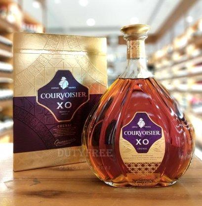 8Courvoisier XO Cognac 1Liter
