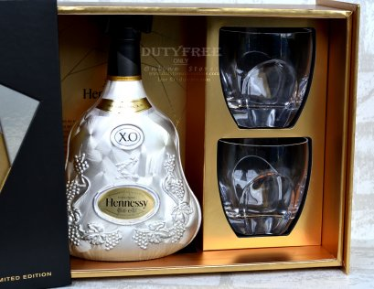 (ลัง 3 Set) Hennessy X.O Extra Old Cognac Limited Edition 70cl.